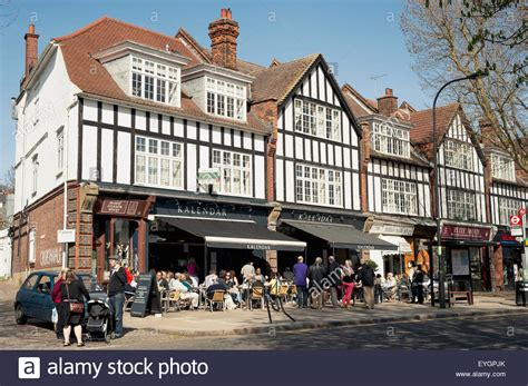 houses to buy in north london uk england north london london tudor style houses in hstead stock photo