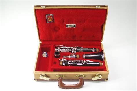 Clarinet Leblanc Eb Wood Classic 1966 leblanc classic ii wood clarinet reverb