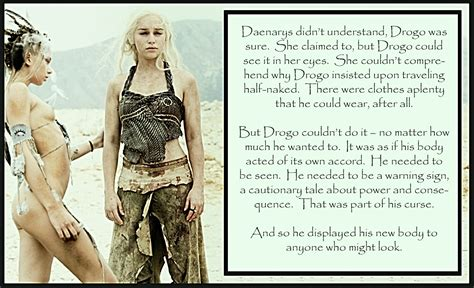 forced feminization art stories and captions game of thrones homage a khal no more the feminization