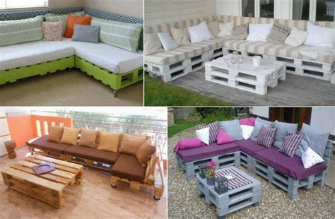 Diy Home Decor Ideas With Pallets Diy Pallet Home Furniture Projects