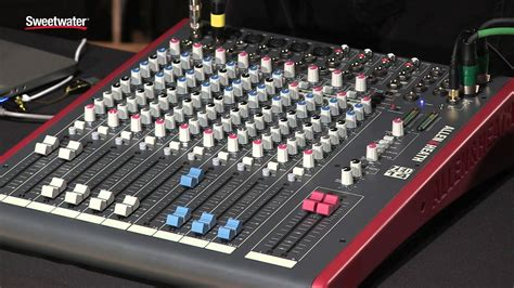 Allen Heath Mixer Live Zed18 allen heath zed series mixers review by sweetwater sound