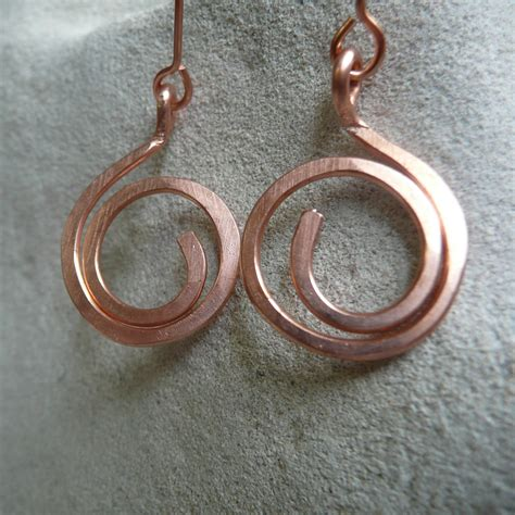 how to make copper jewelry my custom order lovely silver earrings epheriell