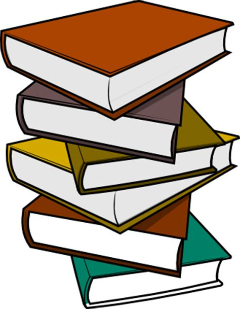 Clipart Stack Of Books free stack of books clip
