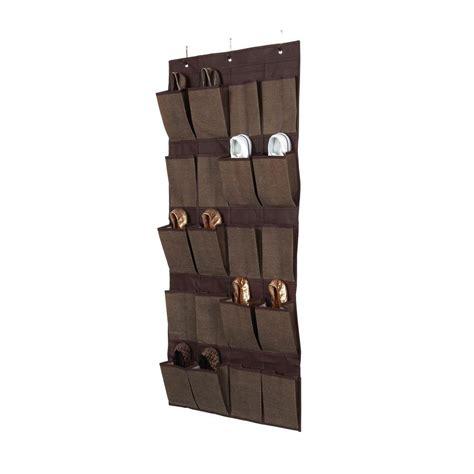 The Door Pocket Organizer by Simplify 20 Pocket The Door Shoe Organizer In