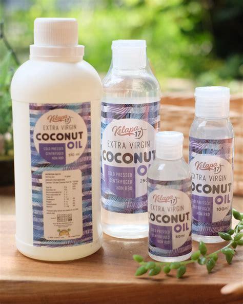 Minyak Kelapa Per Gram kelapa 17 coconut 250ml