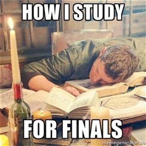Studying For Finals Meme - finals study and supernatural on pinterest