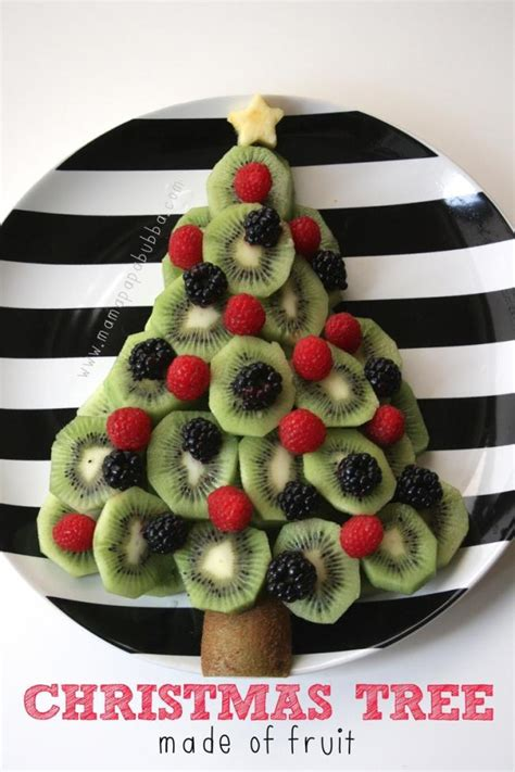 how to make christmas fruits 13 tree themed crafts and food spaceships and laser beams