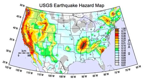 america earthquake zone map top 5 losses homeowners insurance will not cover