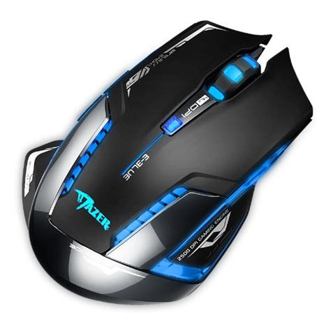 e 3lue e blue mazer ii 2500 dpi blue led 2 4ghz wireless optical gaming mouse