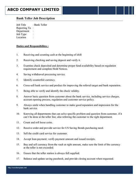 sample resume for bank jobs buckey us