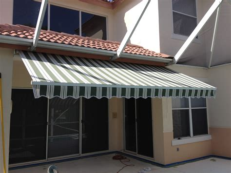 Installing Retractable Awning by Awning Installation Awning Contractors Designers Inc