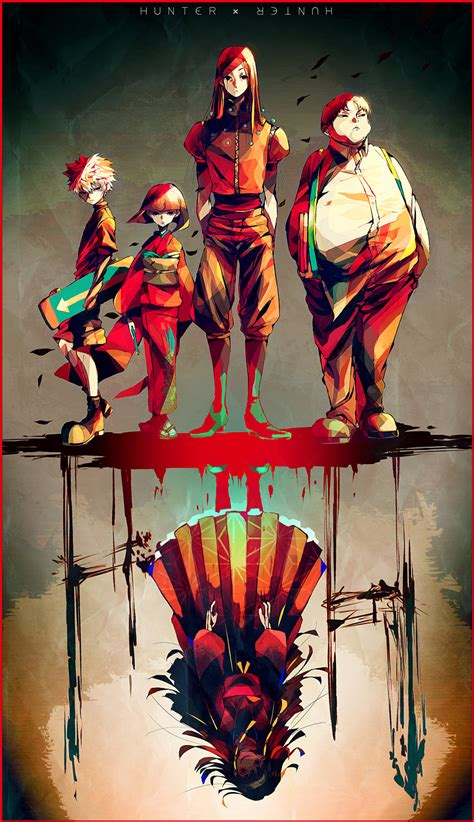 wallpaper android hunter x hunter hunter x hunter mobile wallpaper android iphone