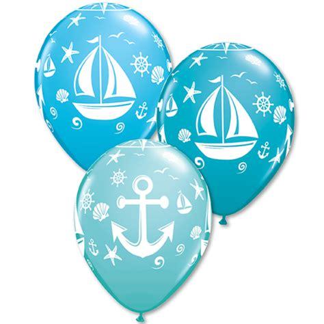 nautical themed balloons nautical theme balloons biodegradable balloons