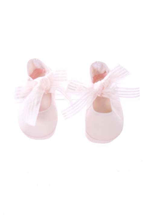 light pink baby shoes baby dear light pink soft shoes with pink bows infant size