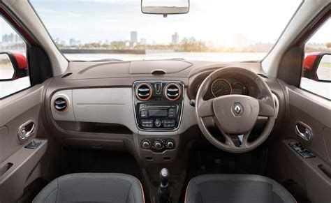 renault lodgy interior renault lodgy price in india images mileage features