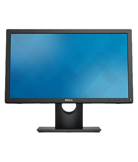 Monitor Led Dell 18 5 dell e1916hv 18 5 led backlight monitor with vga black