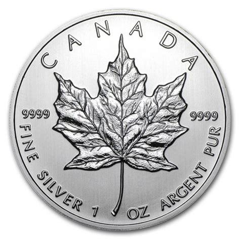 1 Oz Canadian Maple Leaf Silver Coin by 1 Oz Canada Silver Maple Leaf Bullion Coin Random Year