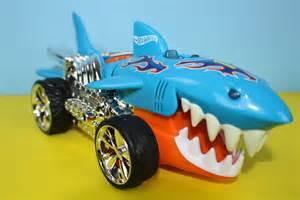 Wheels Truck With Teeth Wheels Sharkruiser Car With The