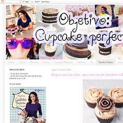 objetivo cupcake perfecto chic recetas pearltrees