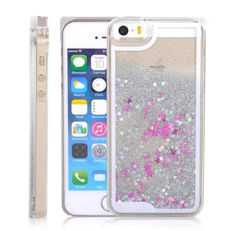 Softcase Iphone 6g Plus 6s Plus Water Glitter Ring Hello Silver falling liquid glitter 3d bling cover for iphone 6 white futurocks