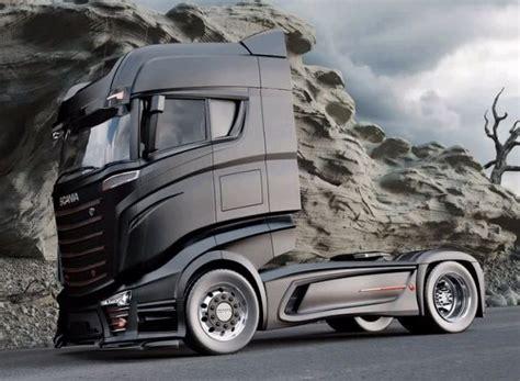 concept work truck bad scania 1000 concept truck scania trucks