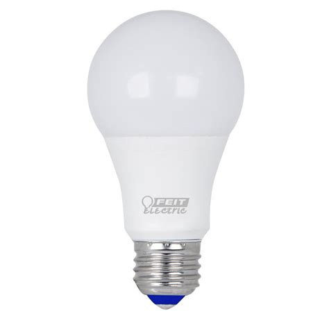 led light bulb equivalent to 60w feit electric 60w equivalent warm white a19 cold start led