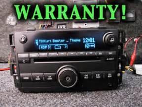 Chevrolet Xm Radio Chevy Cd Disc Mp3 Player Sirius Xm Radio Monte Carlo