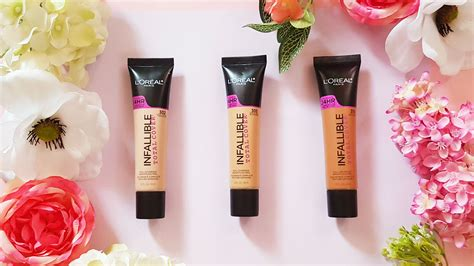 Foundation Loreal Infallible Liquid l oreal infallible total cover liquid foundation review