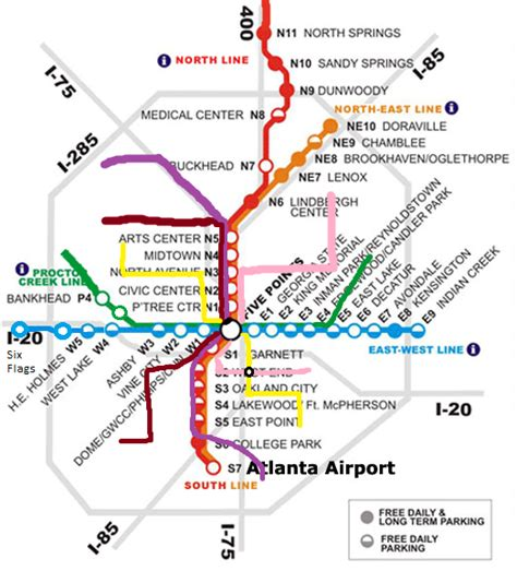 marta station map possible future marta map atlanta tucker transfer airport rail ga city data