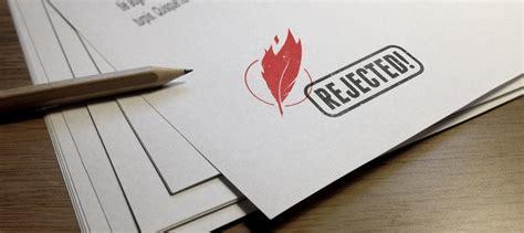 rejection letter means