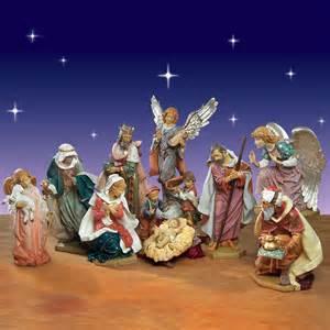 fontanini nativity set 50 quot 11 piece