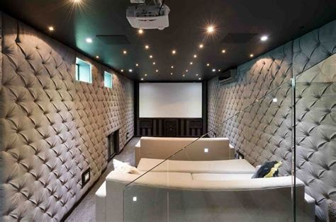room in a room soundproof sound proof home cinema room basement acoustic treatment cinema home