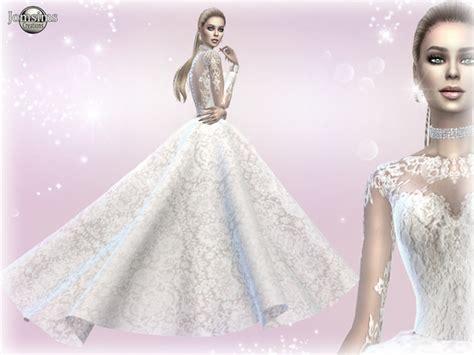 Dress Big Salur Cc atanis wedding dress 2 princess by jomsims at tsr 187 sims 4 updates