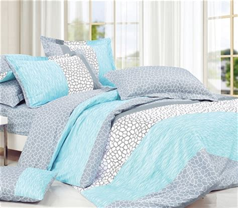 dove aqua xl comforter college ave designer series