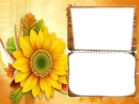photo montage frame photo montage sunflower frames pixiz