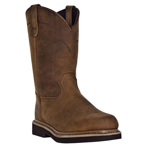 pull on boots mcrae 11 quot western pull on boots 627664 work boots at