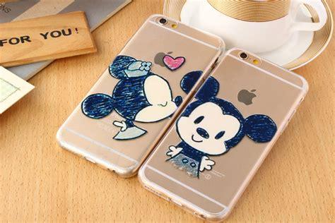 Glitter Sticker Xiaomi Mi 4s tpu minnie mickey mouse dos desenhos animados casais