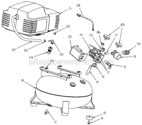porter cable pancake air compressor cf