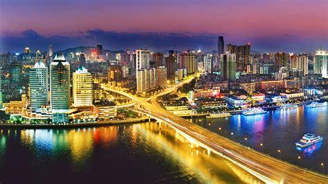 urban nightlife guangzhou china wallpapers hd wallpapers