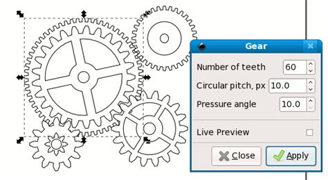 inkscape tutorial gear nicu s how to drawing gears in inkscape