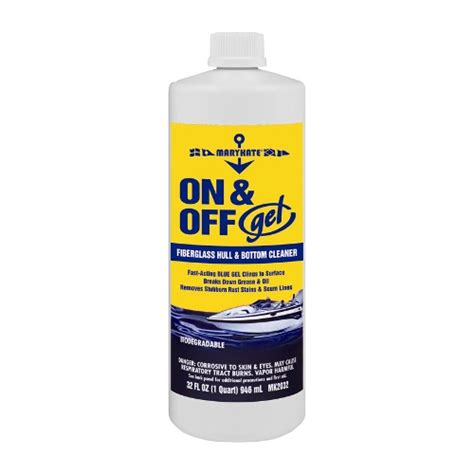 on off boat cleaner marykate on and off gel hull bottom cleaner west marine