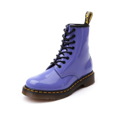 womens dr martens 8 eye boot dusty blue journeys shoes