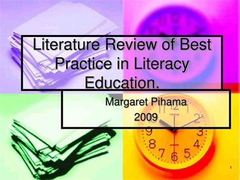 Literature And Best Practice Review On Educational Decentralization by Ppt Literature Review Of Best Practice In Literacy Education Powerpoint Presentation Id 5084171