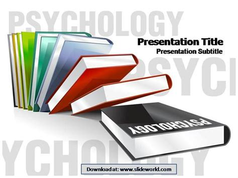 Psychology Authorstream Psychology Presentation Template