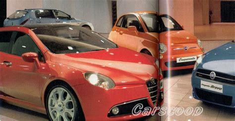Alfa Romeo Lancia Alfa Romeo Fiat Lancia 2007 2009 Models