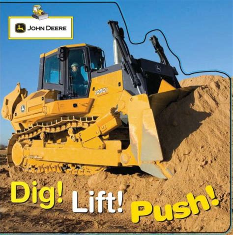 Dig Board Book Deere Dig Lift Push By Parachute Press Dk