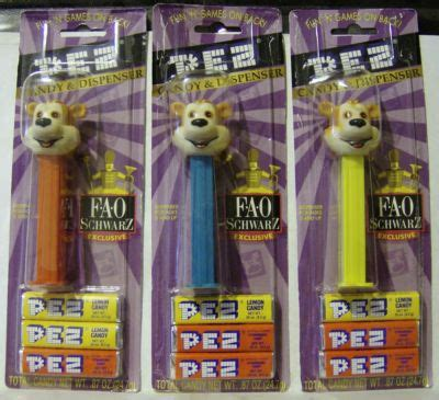 Fao Schwarz Gift Card - pez dispensers antique price guide
