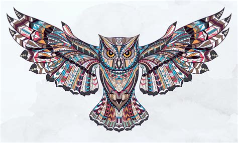 sacred owl tattoos