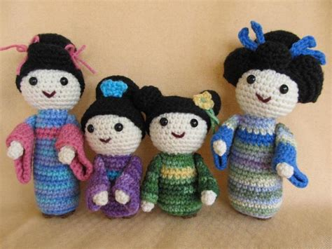 amigurumi geisha pattern geisha and maiko amigurumi pattern by craftydebdesign