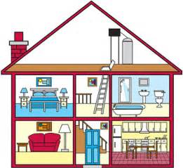 Rooms In A House by Webquest Creator